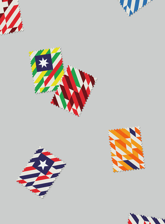 World Cup Stamps 2014